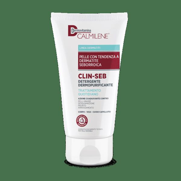 Dermovitamina Calmilene Clin-Seb Detergente Dermopurificante